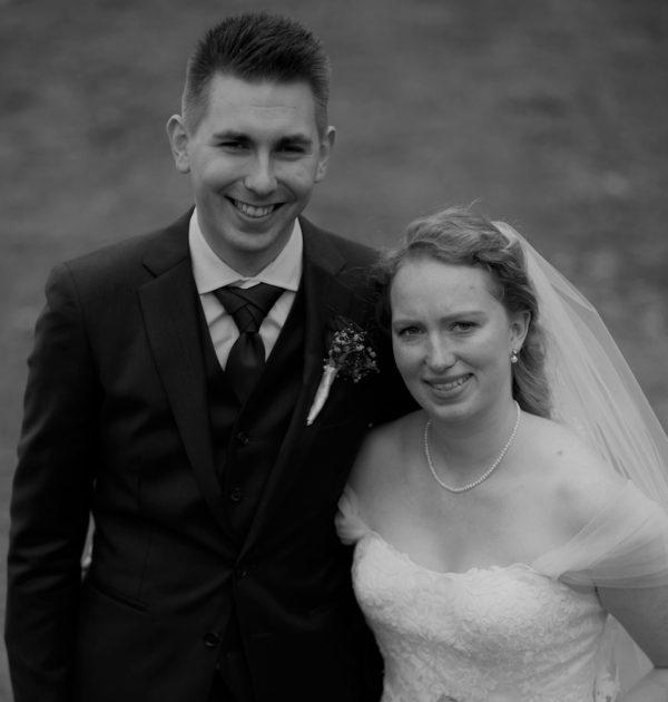 Underholdning til Louise og Nils' bryllup